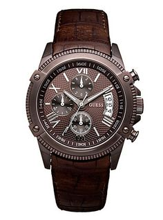 DRESSY SPORT CHRONOGRAPH WATCH - BROWN IP  $160.00