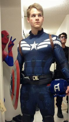 Michael Hamm as Captain America