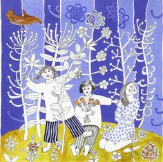 3GirlsOnBlueWC by cate edwards, via Flickr