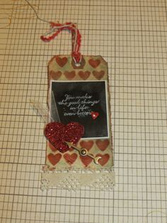 My take on the Tim Holtz tag challenge for February  #12tagsof2014