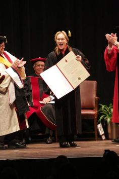 The doctorates