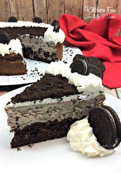 Chocolate Oreo Cheesecake