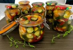Grilling Recipes, Pickles, Cucumber, Stuffed Peppers, Vegetables, Cooking, Food, Spice, Kitchen