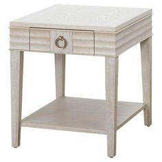 Display Framed Photos Or A Stylish Vignette On This Classic End Table,  Featuring 1 Drawer