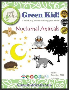 Nocturnal Animals Activity Guide (free; from Green Kid Crafts)