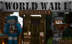 World War I: Resource Pack 1.14.4/1.13.2 Download | Miinecraft.org Minecraft Wiki, Minecraft Mods, Minecraft Download, Minecraft Tutorial, Texture Packs, Biomes, Pvp, Home Free, World War I