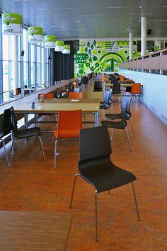 Lentiz- Life College.  Bladen gemaakt door Erbi, stoel van ZeroZ design