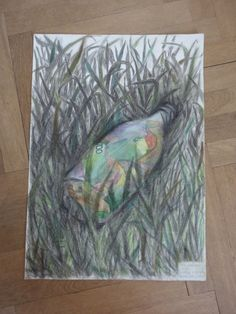LOST AND FOUND Watercolor and charcoal by ArtbyEfka on Etsy