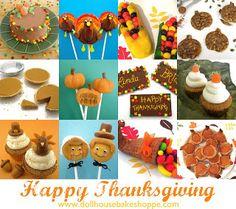 Dollhouse Bake Shoppe: Thanksgiving/Autumn Roundup