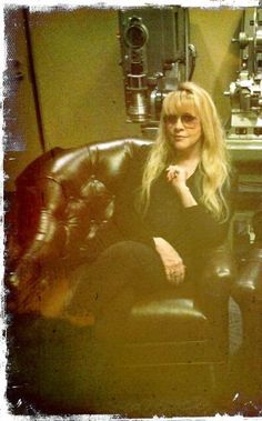 a rare photo of Stevie ~ ☆♥❤♥☆ ~ relaxing at home