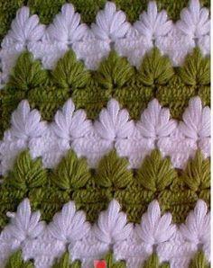 Watch This Video Beauteous Finished Make Crochet Look Like Knitting (the Waistcoat Stitch) Ideas. Amazing Make Crochet Look Like Knitting (the Waistcoat Stitch) Ideas. Picot Crochet, Crochet Leaves, Crochet Motifs, Tunisian Crochet, Crochet Flower, Crotchet Patterns, Crochet Stitches Patterns, Crochet Designs, Stitch Patterns