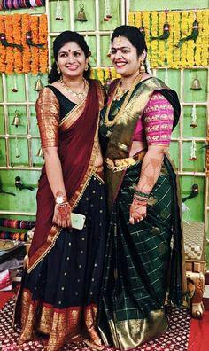 Silk Kurti Designs, Pattu Saree Blouse Designs, Half Saree Designs, Lehenga Designs, Half Saree Lehenga, Saree Dress, Lengha Choli Designer, Bridal Silk Saree, Indian Gowns Dresses