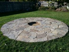 Flagstone firepit                                                                                                                                                                                 More