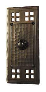 hand crafted arts and crafts style copper door bell button  sc 1 st  Pinterest & Dragonfly Doorbell Mission Door Bells and Door Knockers ... pezcame.com