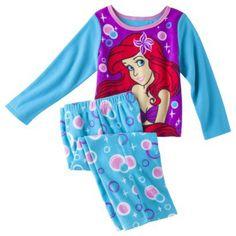 Disney® Ariel Infant Toddler Girls' 2-Piece Pajama Set - Blue
