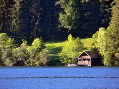 Erlaufsee in Styria and Lower Austria