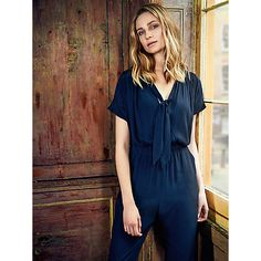 Buy Somerset by Alice Temperley Jumpsuit, Navy Online at johnlewis.com