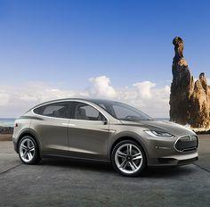 CarsWallpaper: Tesla-Model X Prototype Wallpaper Tesla Motors, Green Electric, Tesla Model X, Motor Car, Dream Cars, Cool Things To Buy, Automobile, Gadgets, Gadget