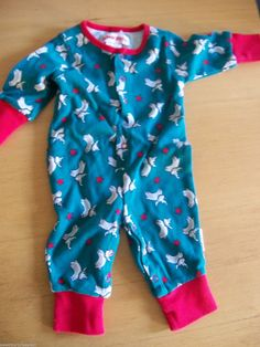 Vintage Gymboree Baby Romper Snow Babies Teal w Reindeer SIZE newborn or reborn   eBay
