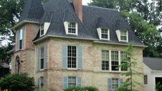 Best Dark Roof Tan Siding Certainteed Landmark Charcoal Black 400 x 300