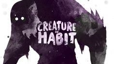 What creature are you feeding? Join us as we learn about the power of habit in our new series Creature Of Habit. Church Graphic Design, Creature Of Habit, Youth Ministry, New Series, Art Inspo, Christ, This Is Us, Creatures, Artwork