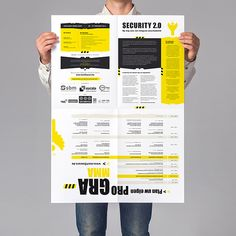 Creative concept for Security seminar on Behance