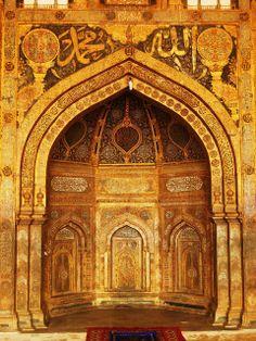 Mihrab, Bijapur Jama Masjid.