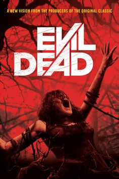 Ranking the Evil Dead movies is something nearly every fan of the Evil Dead saga has done. Here's our list from worst to best movies in the Evil Dead series. Horror Movie Posters, Movie Poster Art, Horror Films, Music Posters, Zombie Movies, Scary Movies, Evil Dead Series, Evil Dead 2013, Samba Music