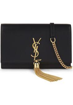 02ac3608a5 SAINT LAURENT Kate Tassel Monogram leather clutch