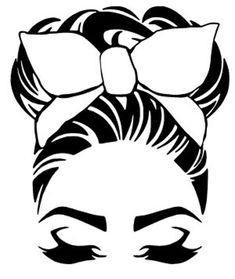Cricut Craft Room, Cricut Vinyl, Vinyl Decals, Machine Silhouette Portrait, Silhouette Design, Silhouette Images, Girl Silhouette, Silhouette Vector, Arte Do Mickey Mouse
