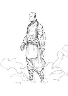 116 meilleures images du tableau comment dessiner un personnage masculin drawing faces - Dessiner un ninja ...