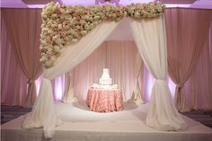 All hail the perfect cake. Bryant Dewey Seasons Resort and Club Dallas at Las Colinas Wedding Draping, Wedding Stage, Dallas Wedding, Chuppah, Ceremony Decorations, Wedding Designs, Wedding Ideas, Backdrops, Backdrop Ideas
