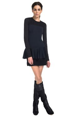 Adams Color Block Knit Dress by Isabel Marant for Preorder on Moda Operandi
