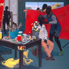 """""""Kerry James Marshall: Mastry"""" is the largest museum retrospective to date of the work of American artist Kerry James Marshall (born 1955)."""