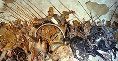 In 333 BC, Alexander the Great defeated the Achaemenid King Darius III at the Battle of Issus. It was the beginning of the end for the power of the Achaeme