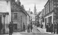 Old photograph of Stromness, Orkney Islands, Scotland