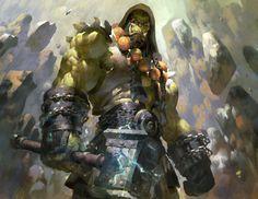 missazabi:   Thrall the Earth Warder by Ruan Jia