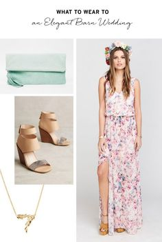 What to Wear to Any Type of Wedding This Summer via Brit + Co