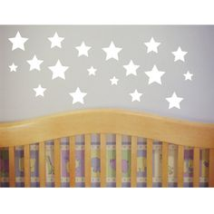 Stars Wall Decal  Stickers  Nursery and Childrens Room by luxeloft, $13.30