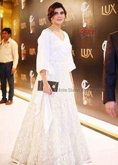 Nida Yasir Pakistani Dress Design, Pakistani Dresses, Stylish Dresses, Fashion Dresses, Nida Yasir, Pakistani Actress, Female Celebrities, Lehenga, Anchor