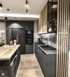 Kitchen Dinning Room, Kitchen Room Design, Apartment Kitchen, Modern Kitchen Design, Small Cottage Kitchen, Farmhouse Style Kitchen, Luxury Kitchens, Home Kitchens, Contemporary Kitchen Inspiration