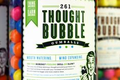 Introducing Thought Bubble Gumballs – only from inferno