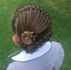 This Little Girl Goes To School Each Day With The Most Incredible Braids You've Ever Seen.