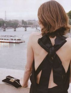 Sofia Coppola in lbd Paris Chic, Looks Style, Style Me, Simple Style, Sofia Coppola, Glamour, Chanel Couture, Inspiration Mode, Elle Fanning