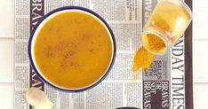 Crema de calabaza, cúrcuma y jengibre, protección contra el cáncer Cheeseburger Chowder, Cooker, Remedies, Fruit, Desserts, Recipes, Soups, Food, Natural