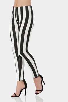 Line Ref Striped Pants