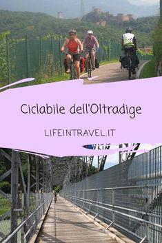 Pista ciclabile dell'Oltradige: in bici lungo la vecchia ferrovia ✨ #lifeintravel Mtb, Travel With Kids, Mens Sunglasses, Bicycle, Dolce, Travel Ideas, Travelling, Amazing, Biking
