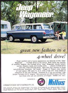 Jeep Wagoneer Ad from Australia