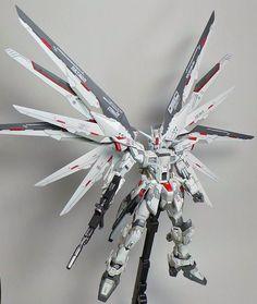 MG 1/100 Freedom Gundam: Custom Build by Boy Alexi. Photoreview Big Size Images