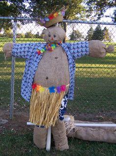 Hula man created by ISU Collegiate FFA/PAS